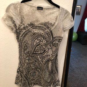 Daytrip women's beaded T-shirt